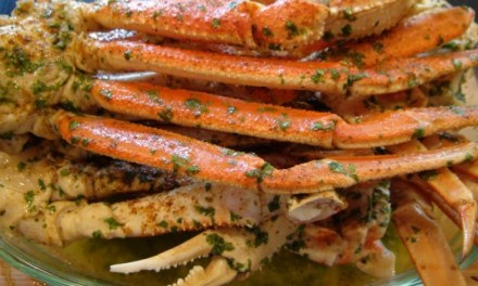 Lick Your Fingers Beer, Butter & Garlic Crab Legs