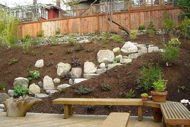 Steep Slope - Vertumni on Steep Hill Backyard Ideas id=25102