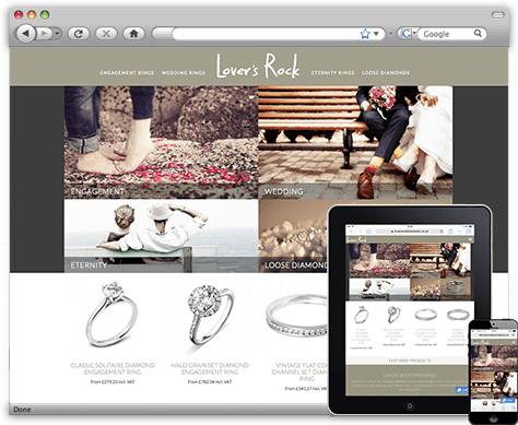 Rock Diamonds ecommerce