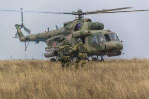 Посадка в Ми-8