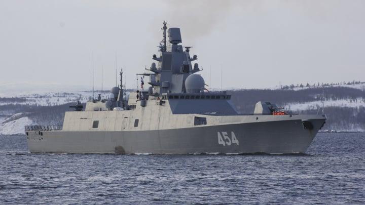 """Российский фрегат """"Адмирал Горшков"""""""