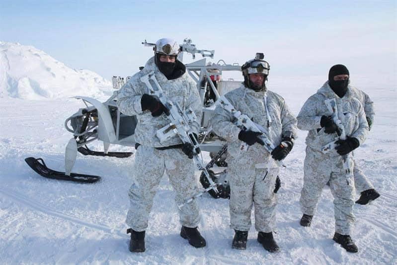 Чеченский спецназ в Арктике