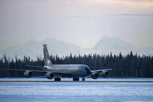 KC-135 на Аляске