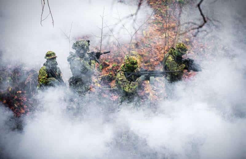«Весенний шторм»: В Эстонии начались масштабные военные учения НАТО