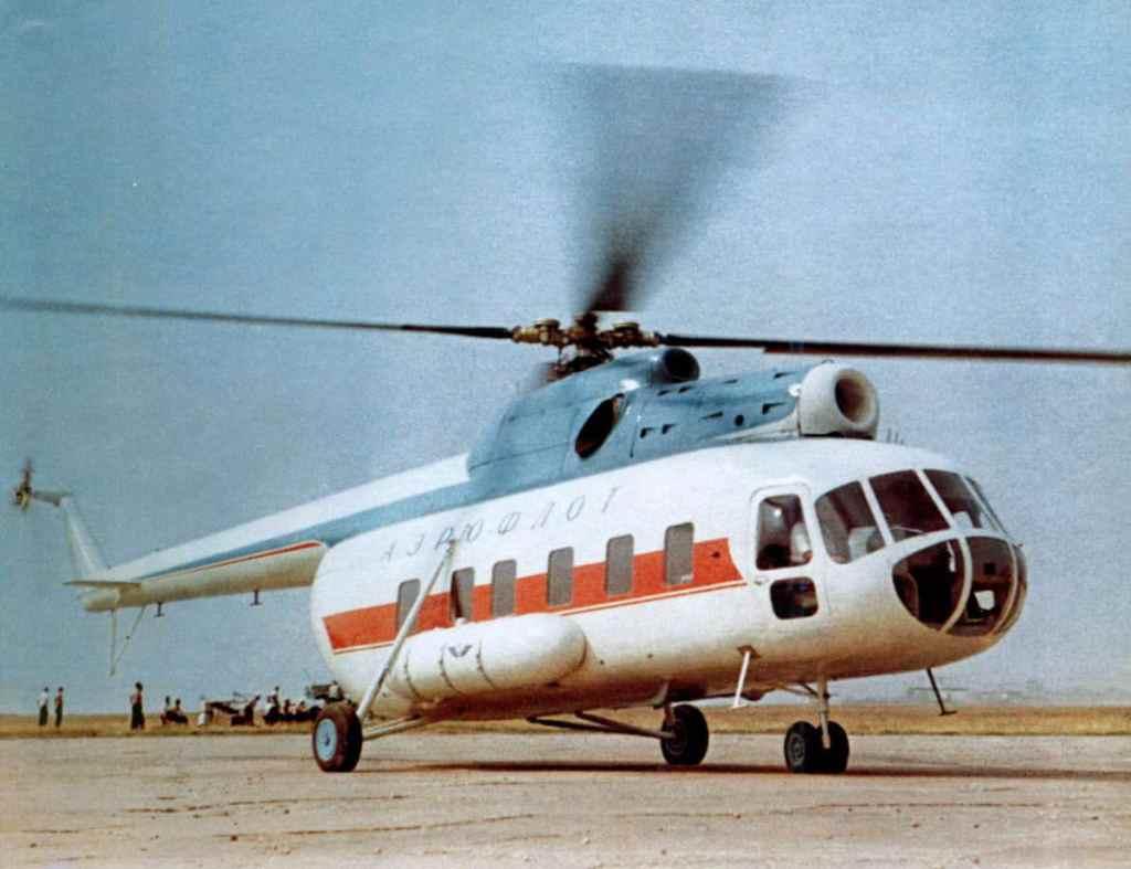 Вертолету Ми-8 60 лет