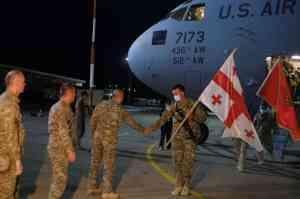 Грузинские военные покидают Афганистан