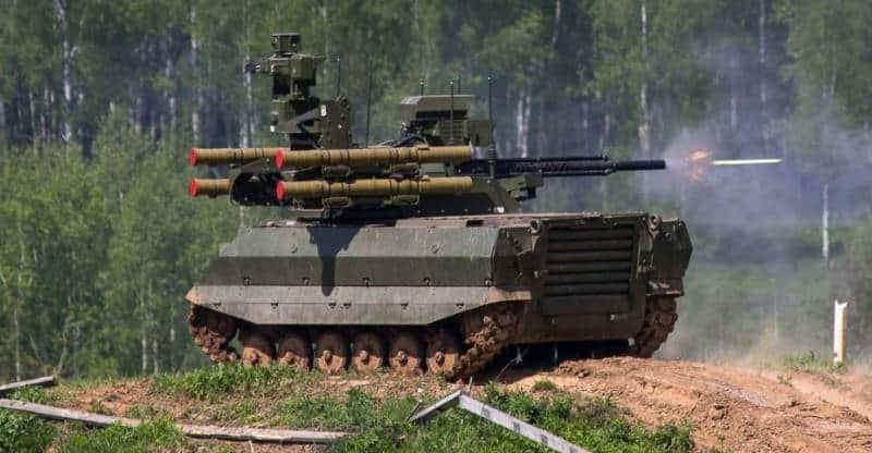 Робототехнический танк «Штурм»