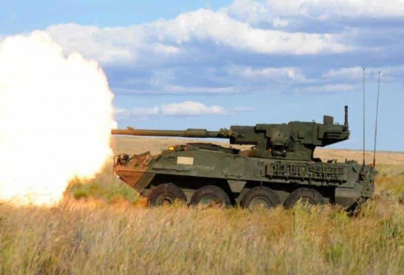 Автоматическая пушка для боевой машины Stryker