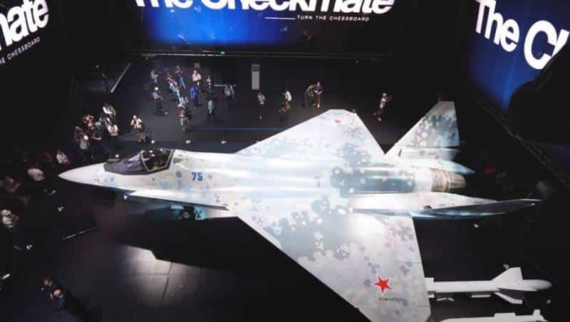 Новый однодвигательный истребитель пятого поколения Checkmate