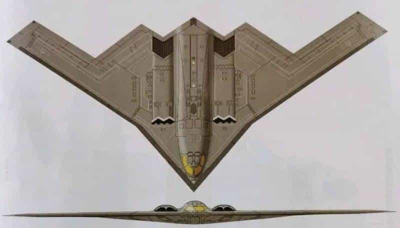 перспективный китайский стратегический бомбардировщик Xian H-20