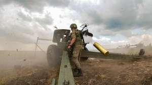 Артиллеристы общевойсковой армии ЗВО