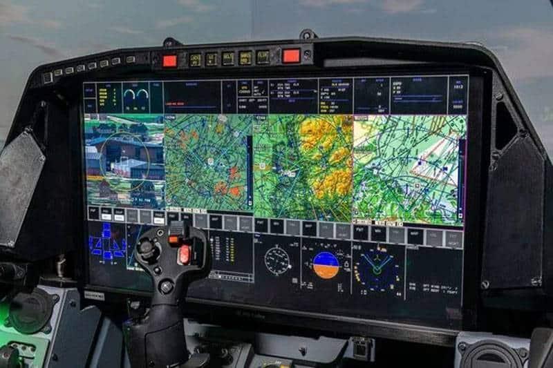дисплеи LAD увеличенной площади от компании BAE Systems