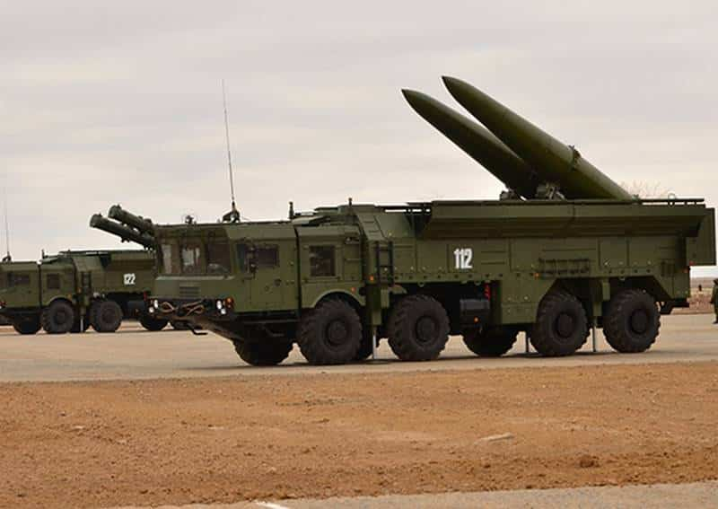 комплект оперативно-тактического комплекса Искандер-М