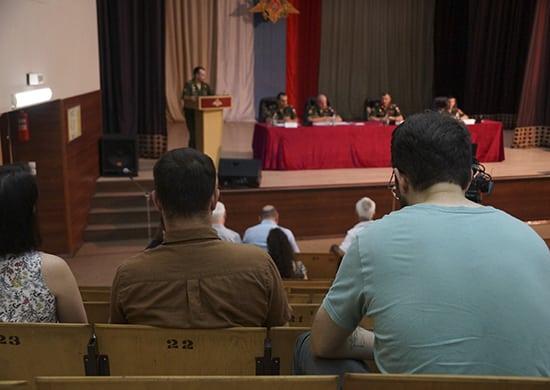 пресс-конференция, посвященная военно-техническому форуму «Армия-2021»