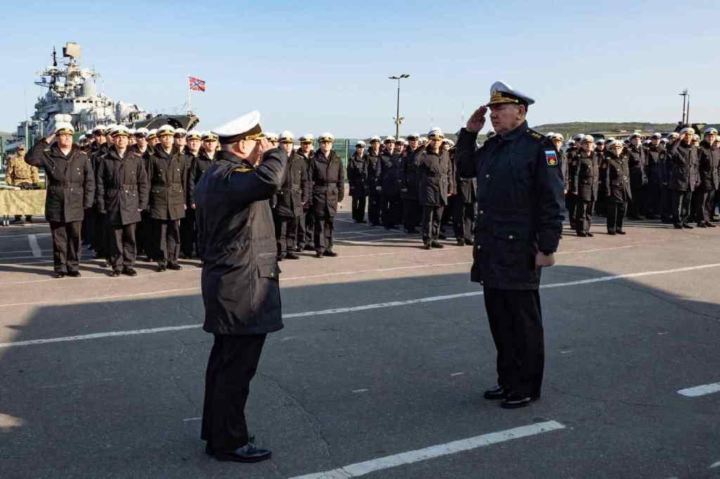 доклад Командующему Северным флотом