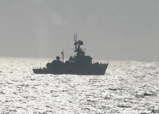 Малые противолодочные корабли провели патрулирование