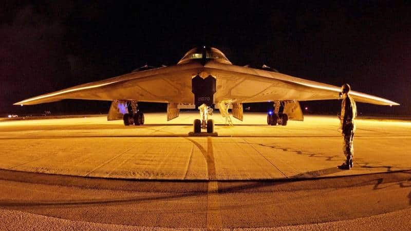 бомбардировщик-невидимка B-2 Spirit