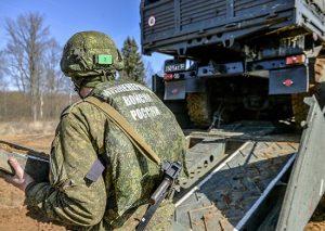 инженеры танковой армии преодолели уникальную огненно-штурмовую полосу