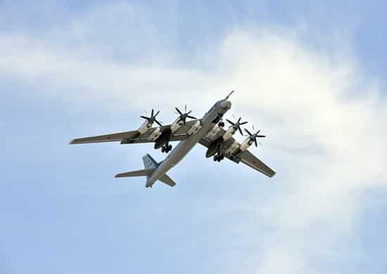 ракетоносец Ту-95МС дальней авиации ВКС России