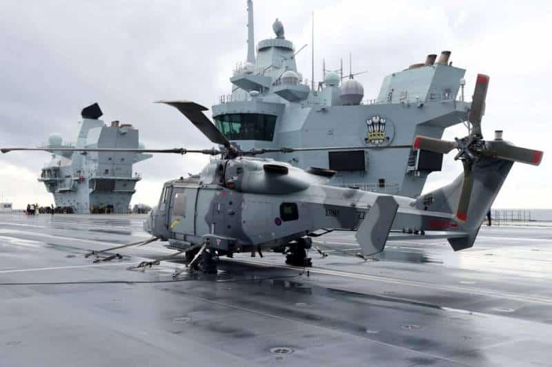 авианосец HMS Prince of Wales