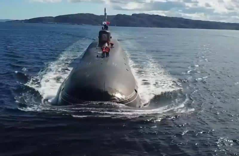 атомный подводный ракетный крейсер стратегического назначения проекта Борей-А