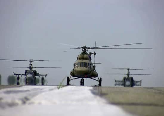 вертолеты-Ми-8МТПР-1-армии-ВВС-и-ПВО-ВВО