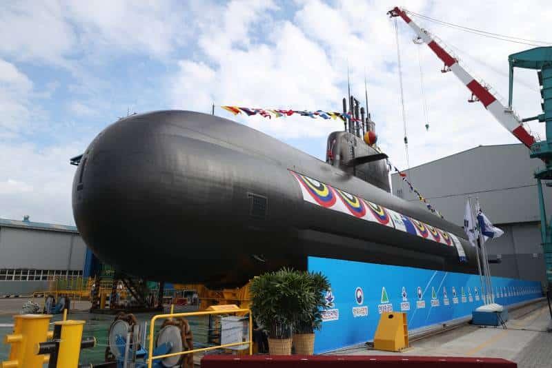 дизель-электрическую подводную лодку класса KSS-III