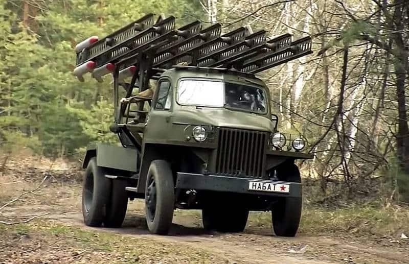 система залпового огня БМ-13 Катюша