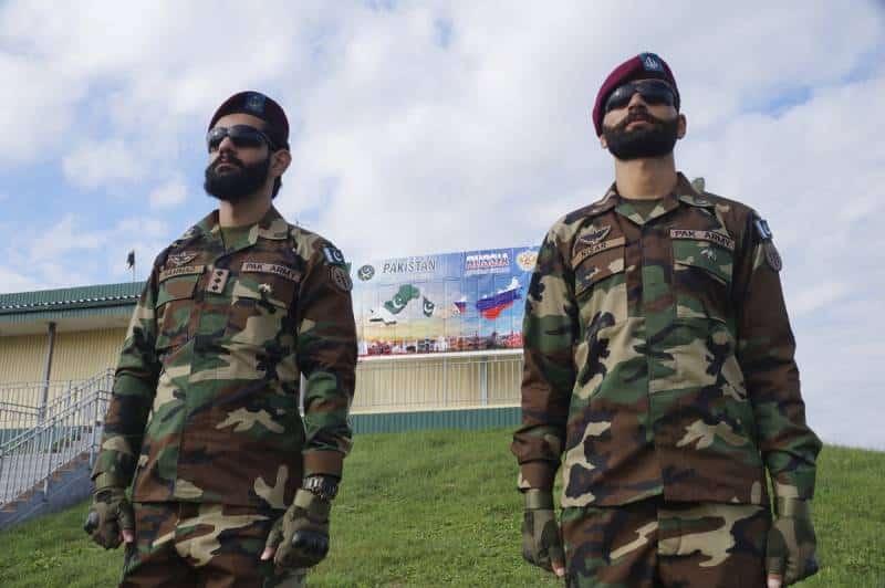 тренировка подразделений спецназа Пакистана с российскими военными