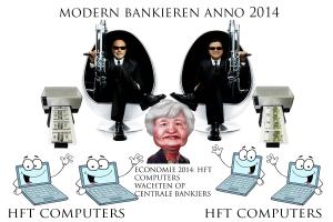 HFT computers wachten op centrale bankiers