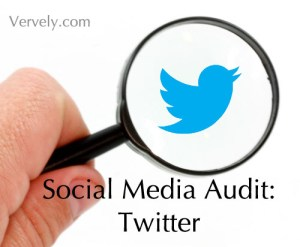 Social Media Audit: Twitter
