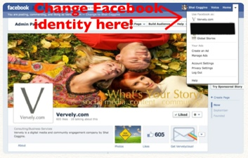 Engage as Facebook Page