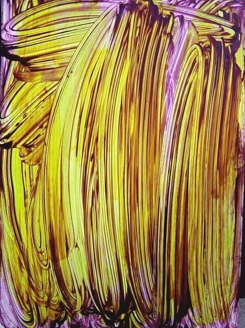 Judy Millar Untitled Yellow