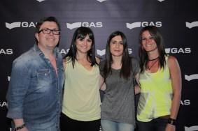 Carlos, Vanessa, Lorena y Verónica, de Gas