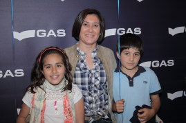 Susana González y los peques