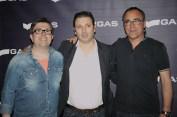 Carlos, Nuno y Joan de GAS