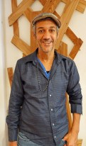 Pascal Tribouillier en la peluquería La Favela