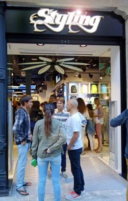 Styling. Bilbao Shopping Night 2014