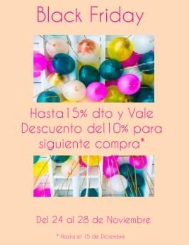 Moca hasta 15% y vale dto. del 10% dto. para siguiente compra.