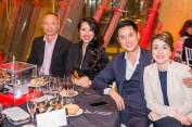 Chunwen Du, Raquel Balencia, Bangmin Lin y Ainhoa Saldias