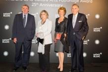 Alejandro Echevarría, Alicia Estívariz, Rosa Lertxundi y José María Arriola
