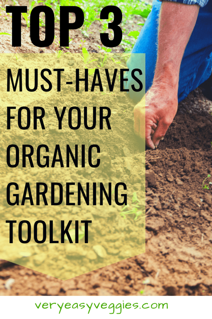 Ready to grow organic vegetables like a pro? Make sure you have these three things on hand to conquer almost any organic garden problem you face!