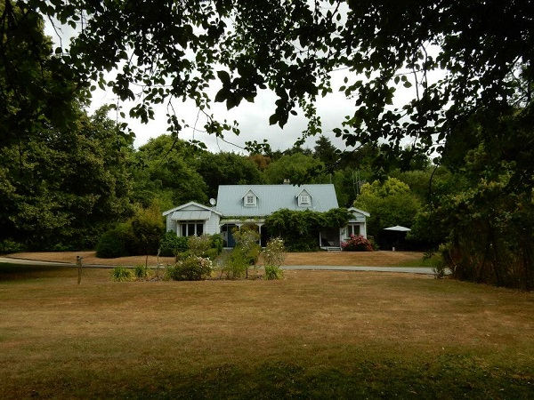The farm in Masterton where I slept
