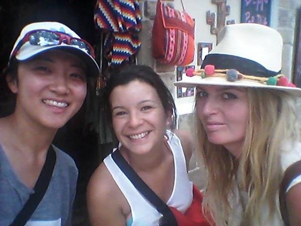 With Caroline en Mila in Cafayate :)