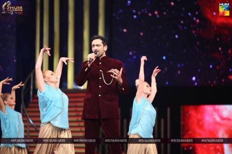 ali sethi hum awards 2017 performance