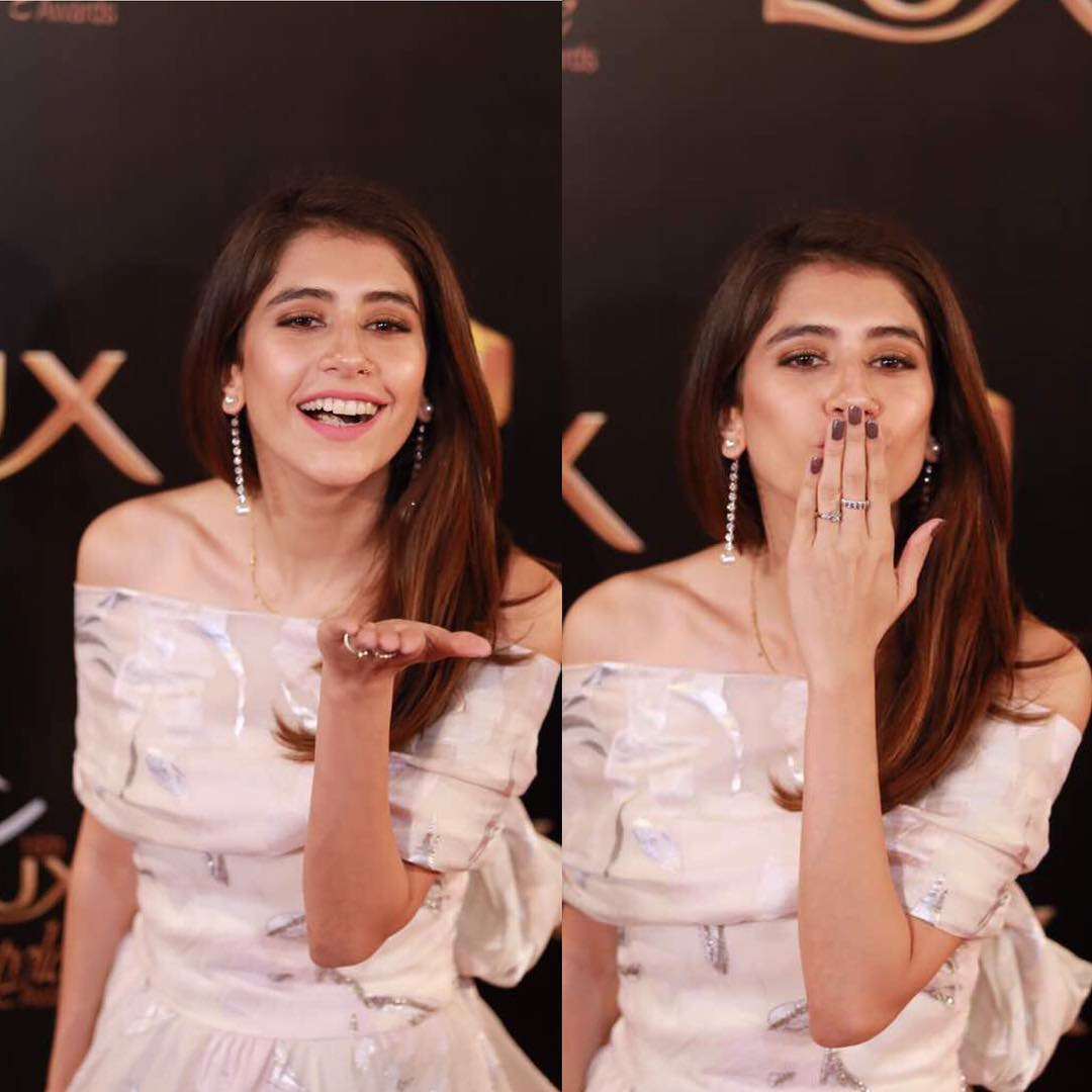 syra shahroz lux style awards 2017 red carpet Best Dressed Celebrities