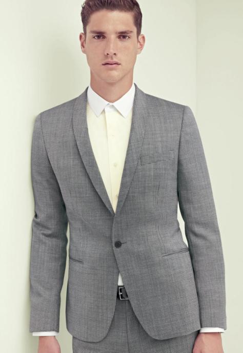 La veste grise classique