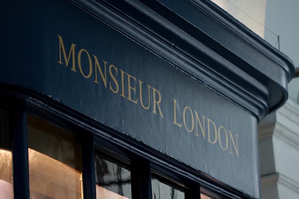monsieur london boutique londres