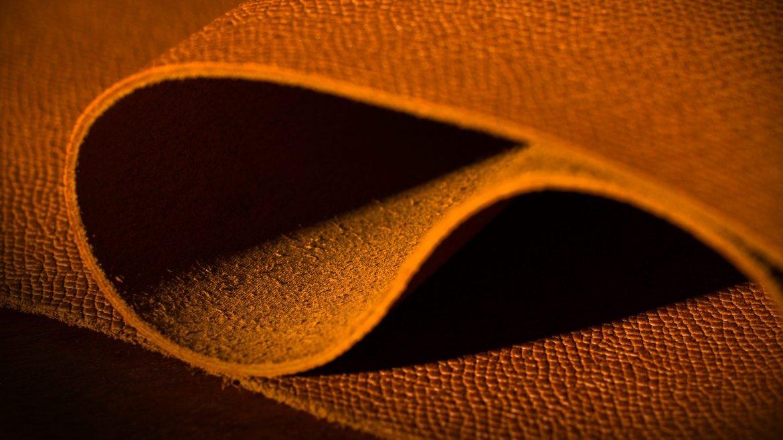 cuir grainé accessoire maroquinerie sur mesure
