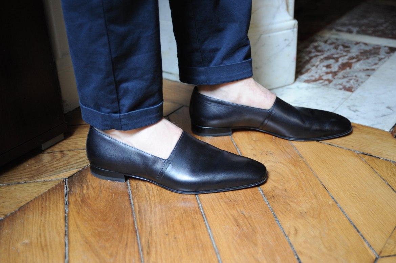 chaussure louboutin homme classique noir